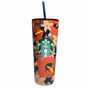 Starbucks Hibiscus Hawaiian 24 oz Travel Cup